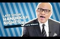 Stephen Colbert Celebrates The Third Night Of Hanukkah with Larry Wilmore
